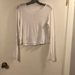 Kit and Ace white long sleeve top